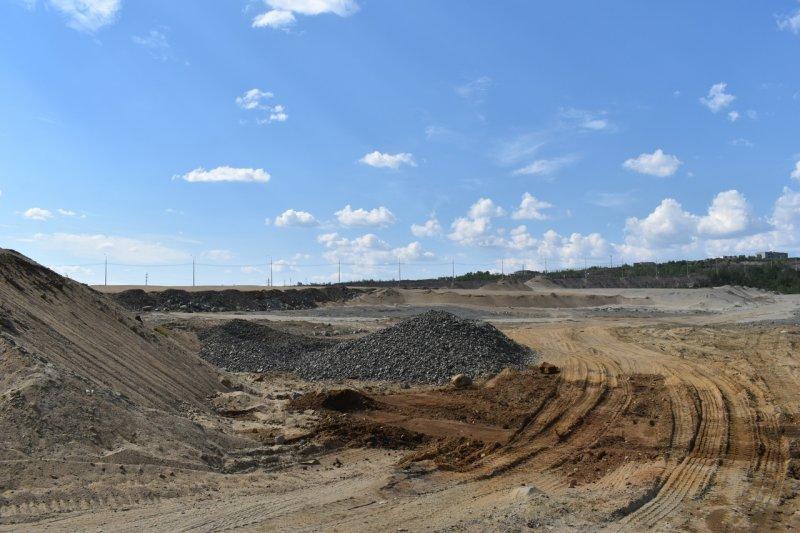 Новое кладбище строят рядом с Заполярным