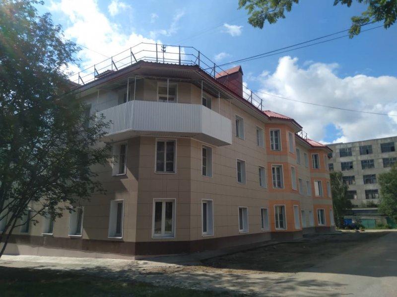 Первыми капремонт домов завершили в Ковдоре