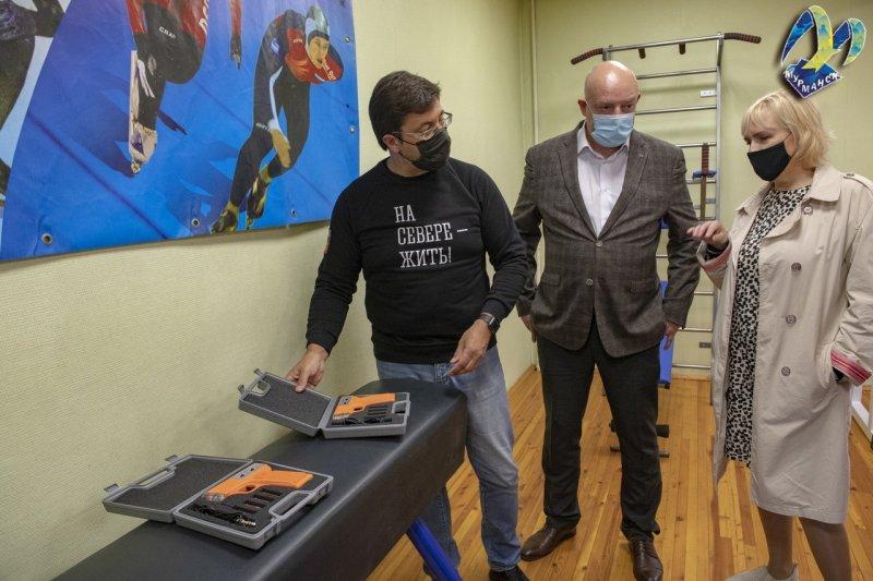 Новое оборудование поступило в школу олимпийского резерва № 4 города Мурманска