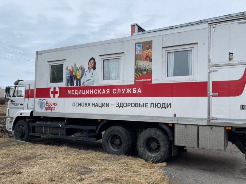 «Поезд здоровья» работает в Терском районе