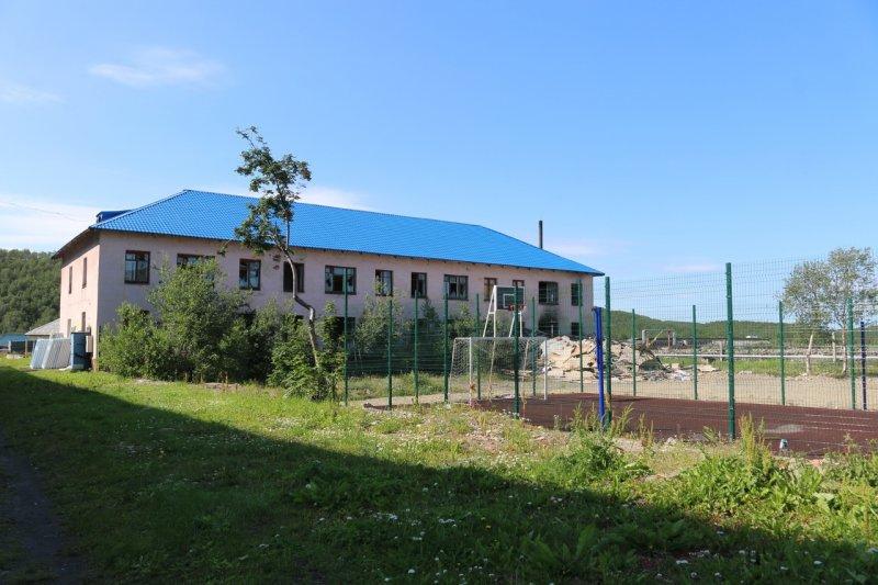 Капремонт спортшколы начался в Спутнике
