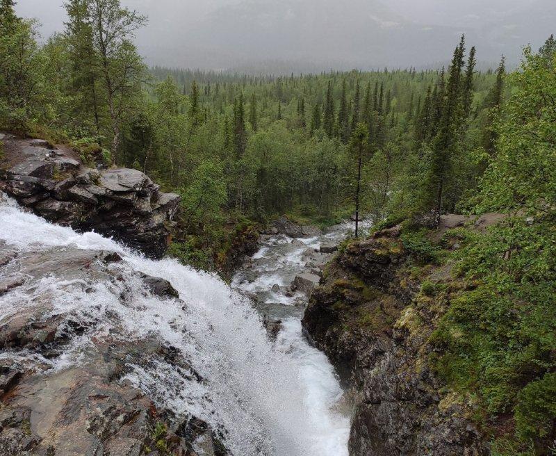 Хибинский водопад попадет в проект «Серебряное ожерелье России»