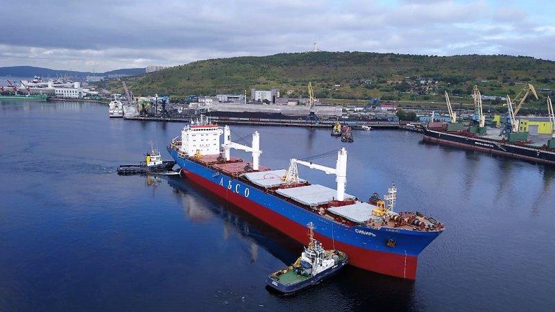 Абсолютный рекорд в Мурманском морском торговом порту