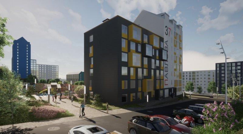 Построят восьмиэтажку в Больничном городке Мурманска