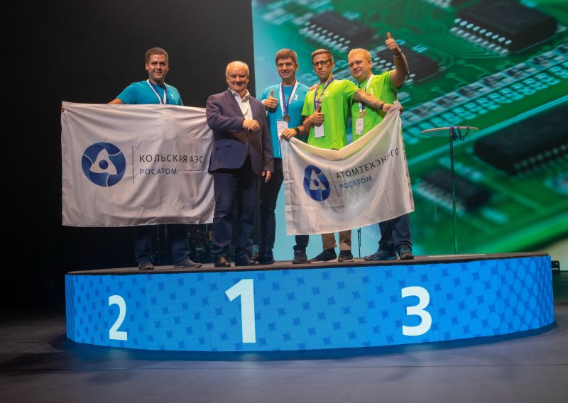 Специалисты Кольской АЭС стали призерами VI чемпионата профессионального мастерства «AtomSkills 2021»