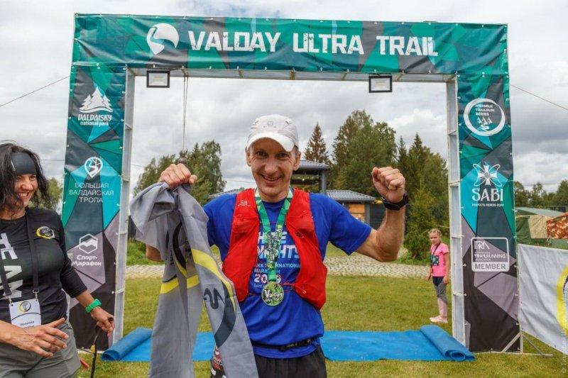 Работник Кольской АЭС стал победителем крупнейшего спортивно-туристического забега Valday Ultra Trail-2021 на дистанции 55 км