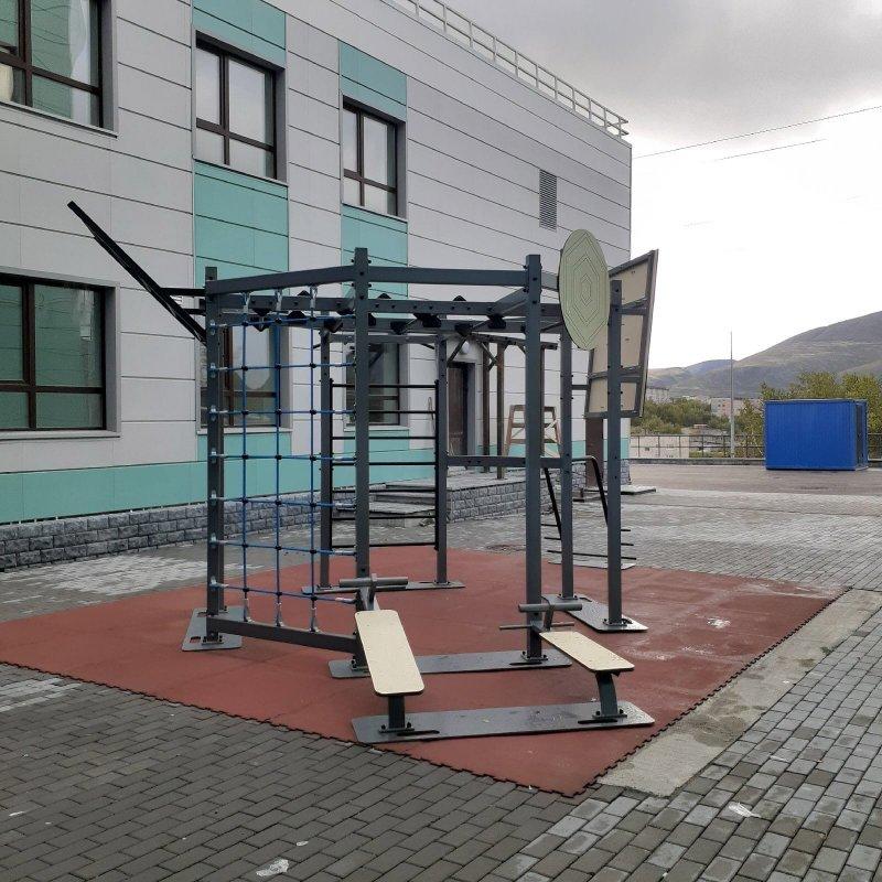 Новое оборудование в горнолыжной школе Кировска