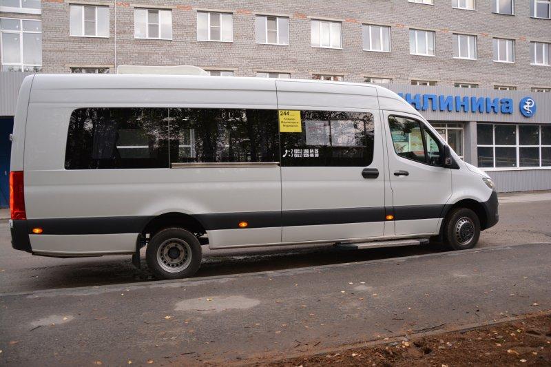 В первый медицинский рейс отправился автобус в Ковдоре