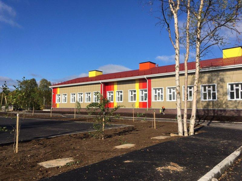 В новый детский сад в октябре пойдут малыши в Мурмашах