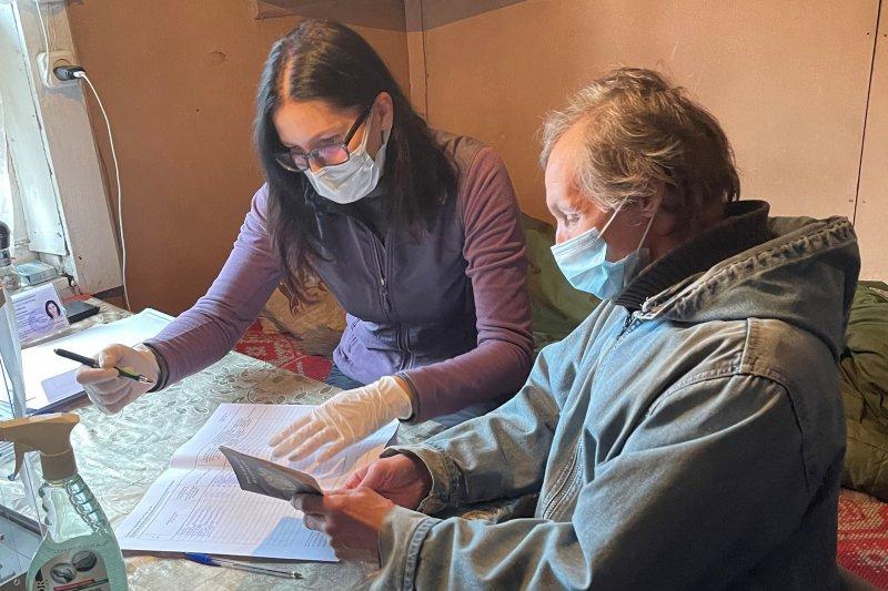 База оленеводов стала помещением для голосования в Ловозерском районе