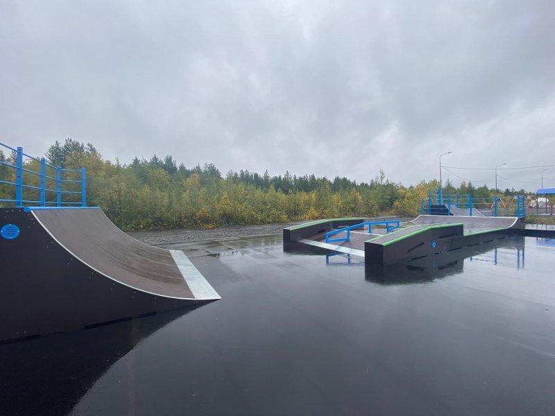 Первая скейт-площадка появилась в Оленегорске