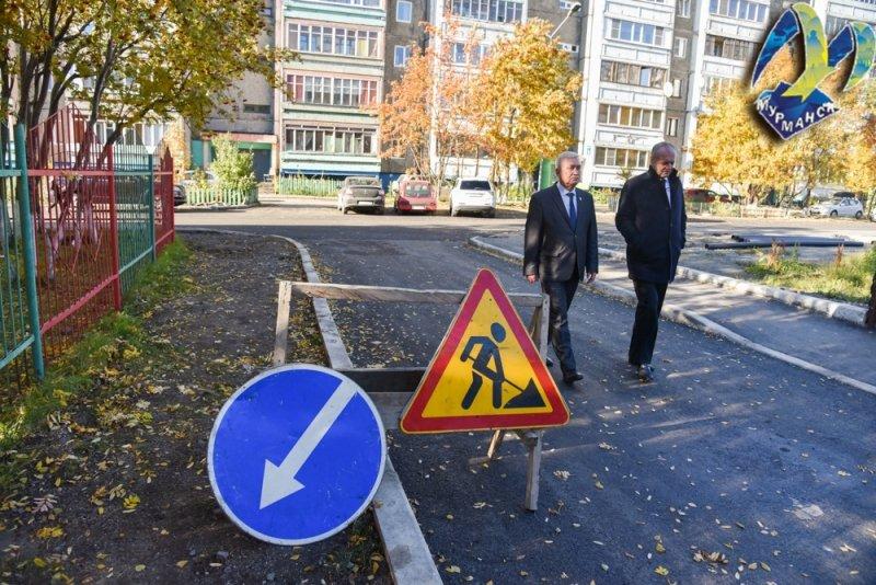 Ремонт дороги по нацпроекту проверили в мурманской Росте