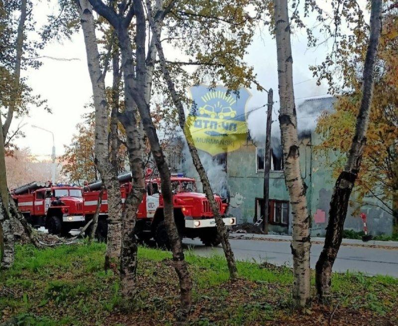 Погибли женщина и мужчина при пожаре в Мурманске