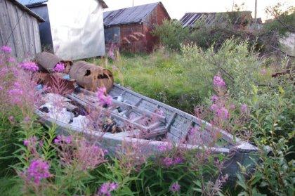 Старые рыбацие лодки ищет художница в Мурманской области