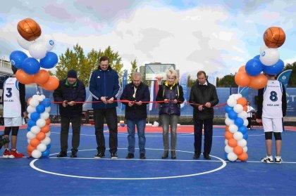 Кольская АЭС: в Полярных Зорях открыт уникальный баскетбольный стадион