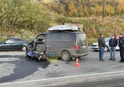 Мотоциклист разбился насмерть в Мурманске