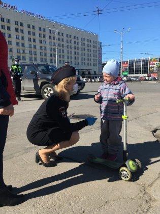 Неделя дорожной безопасности проходит в Мурманской области