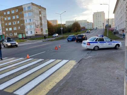 Подростка сбила иномарка в Североморске