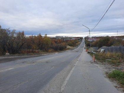 Ограничили автопроезд в Североморске
