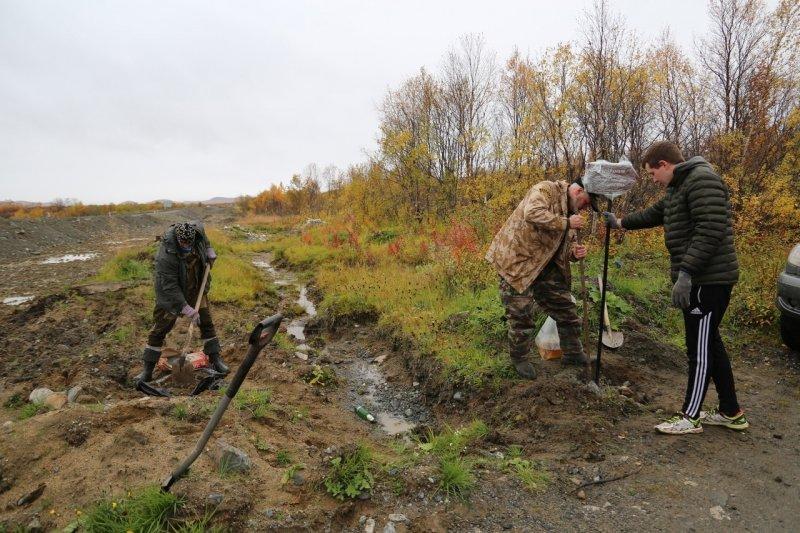Ищут волонтеров для обустройства Тропы Памяти в Печенгском округе