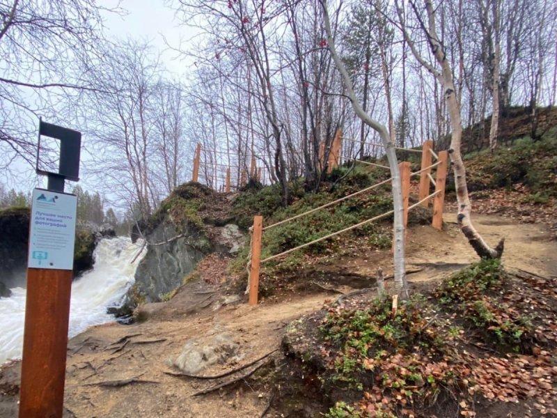 Селфи-столб поставили у реки Шуонийоки
