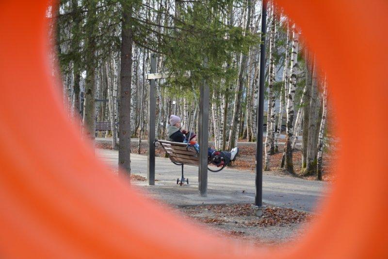 Уютная зона отдыха появилась в Ковдоре