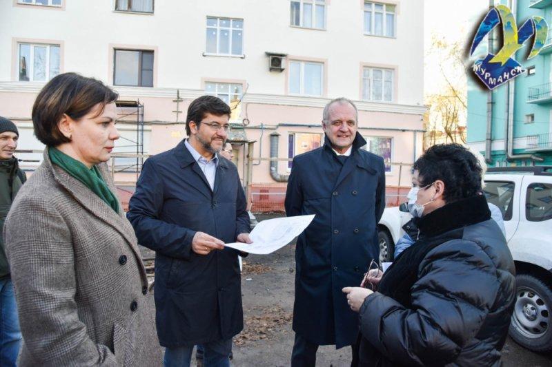 Горожане и депутаты обсудили планы по благоустройству Мурманска