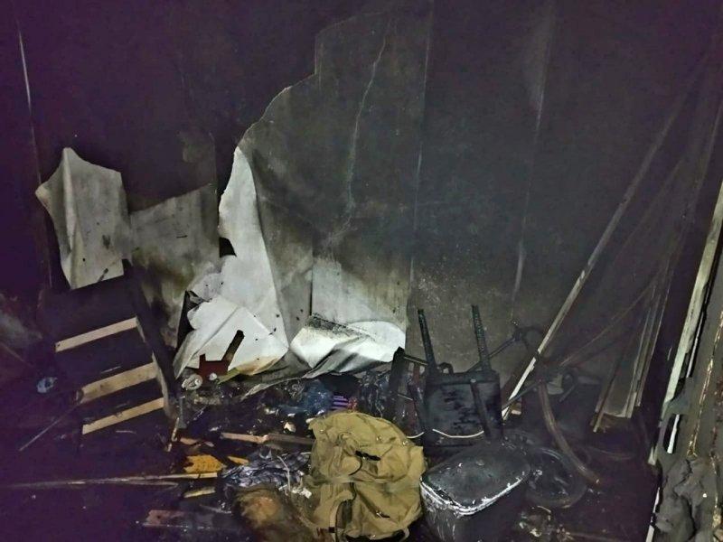 Погиб при пожаре мужчина в Никеле