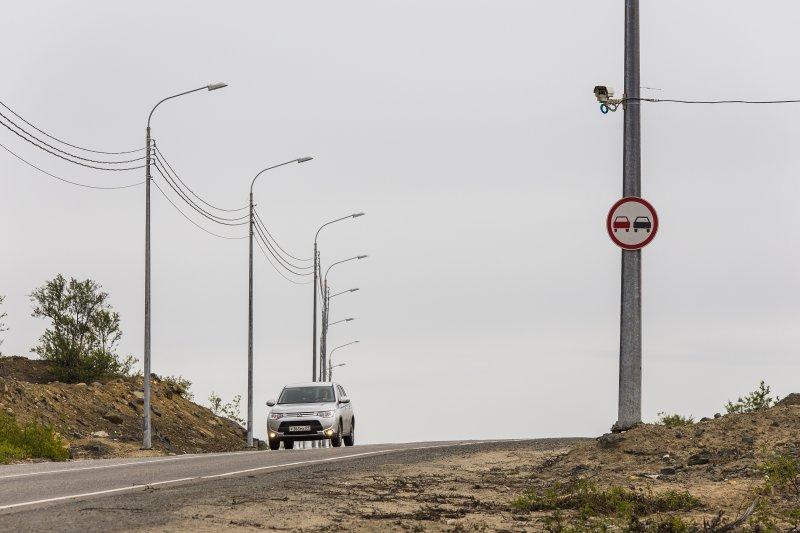 Полностью реконструирован путепровод на автодороге Заполярный – Сальмиярви