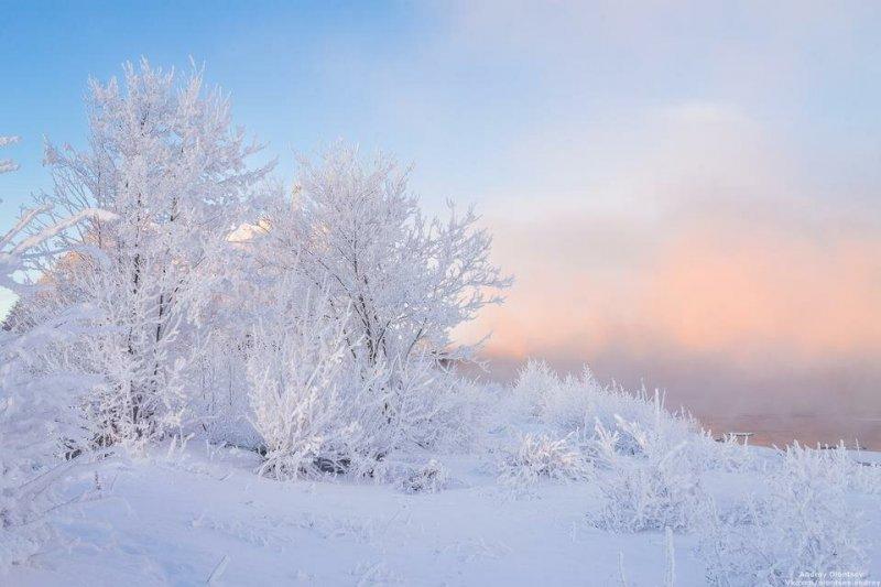 И снова снегопады и -18° ожидаются в Мурманске
