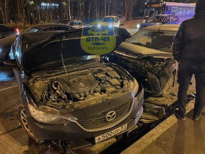 Автоледи спровоцировала серьезную аварию на Кольском